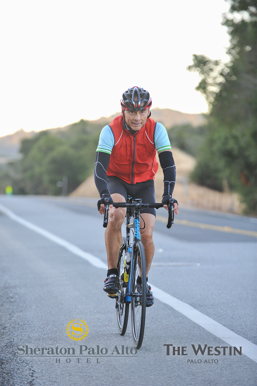 Dr. Jesse Allen, cyclist, runner, and chiropractor in Fremont, CA.